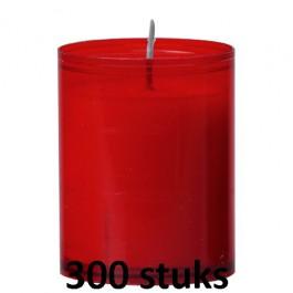 Horeca refills in de rode kleur 64/51 300 stuks
