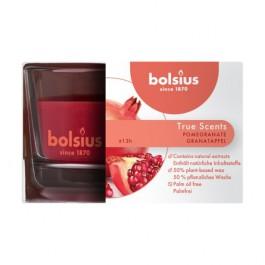 Bolsius geurglas granaatappel - pomegranate geurkaarsen 50/80