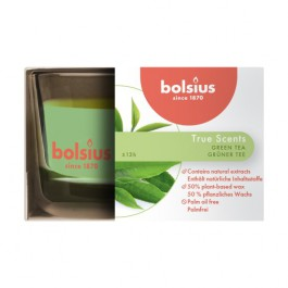 Bolsius geurglas groene thee - green thee geurkaarsen 50/80