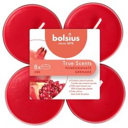 Bolsius granaatappel - pomegranate maxi geurtheelichtjes