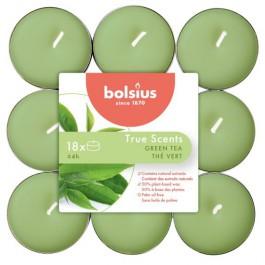 144 stuks Bolsius groene thee geurende theelichtjes