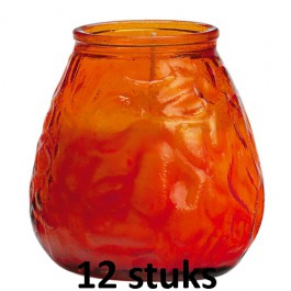 Lowboys in de oranje kleur 100/100 12 stuks