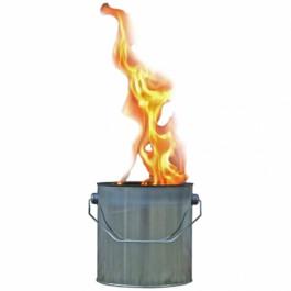 Vuurblikken met grote vlammen 170/155
