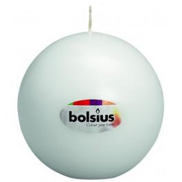 Bolkaars wit van Bolsius, diameter 7 cm