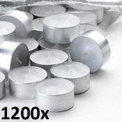 1200 stuks waxinelichtjes 6 uurs
