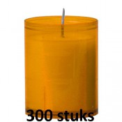 Horeca refills in de amber kleur 64/51 300 stuks