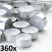 360 stuks maxi theelichten