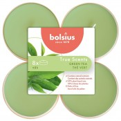 Bolsius groene thee - green tea maxi geurtheelichtje