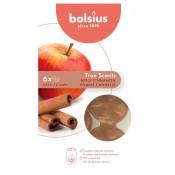 Bolsius wax melts appel kaneel - apple cinnamon geur (25 uur)