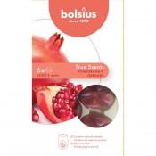 Bolsius wax melts granaatappel - pomegranate geur (25 uur)