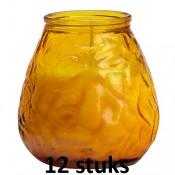 Lowboys in de amber kleur 100/100 12 stuks