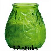 Lowboys in de lime groene kleur 100/100 12 stuks