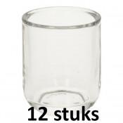 12 stuks Bolsius moods relight horeca glazen