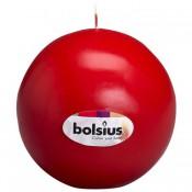 Bolkaars rood van Bolsius, diameter 7 cm