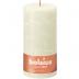 Bolsius ivoor rustiek stompkaarsen 200/100 (125 uur) Eco Shine Soft Pearl